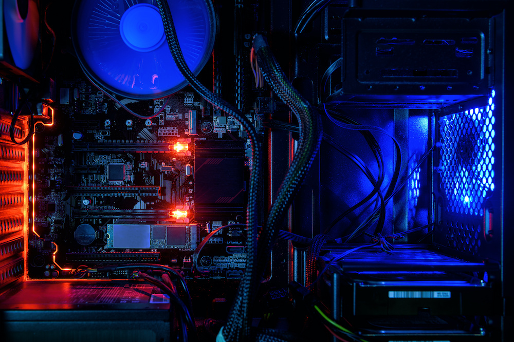 what red light on motherboard means