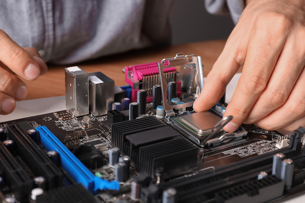 how to replace motherboard